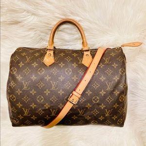 Authentic Louis Vuitton Speedy 35 #4.5b